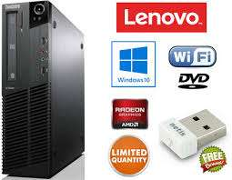 Lenovo ThinkCentre AMD A4 6100 3.1 GHz,4 GB ,500 GB