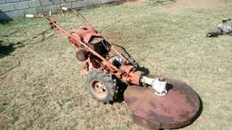 gravely mod j walk behind tractor