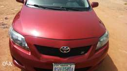Clean Toyota corolla S 2010 model is out for quick sale