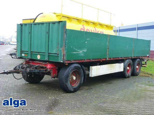 Krone AD, 24 t., 8,2 m. lang, 3 achser, 2x am Lager! - 2007
