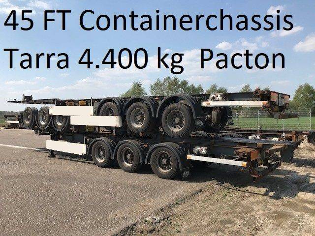 Pacton Txc339 ,40 / 45 Ft Container , Tarra 4.400 Kg - 2008