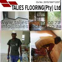 wooden flooring and blinds