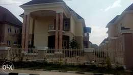 A newly completed 5 bedroom duplex with 2 sitting room
