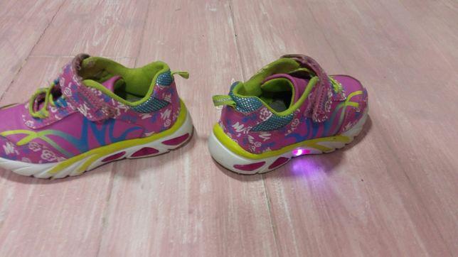 e614d1c0500263 Кроссовки для принцессы ТМ Совенок, светятся, стелька - 16 см Київ -  зображення 8