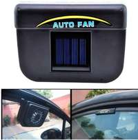 vehicle solar powered ventilation system (auto cool, auto vent)