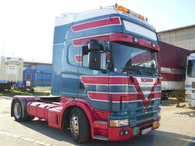 Scania 164 480 V8, Euro 3, Top Zustand - 2001