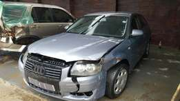 Audi A3 2.0fsi breaking for spares or forsale as is