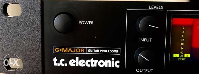 Guitar processor with more than 100 effects G-Major Guitar Processor