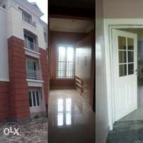 A newly built 3bedroom flat for sale.