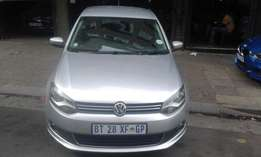 Vw polo 1.6 sedan silver in color 2012 model 88000km R118000