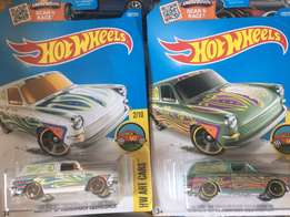 Hot Wheels 2 lot fast back vw