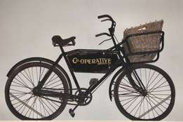 Old delivery bicycles wanted