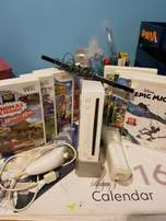 Wii in good working condition with games