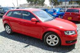 Audi A3 Red