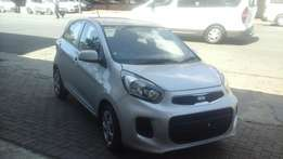 2013 KIA Picanto 1.1 Silver Color