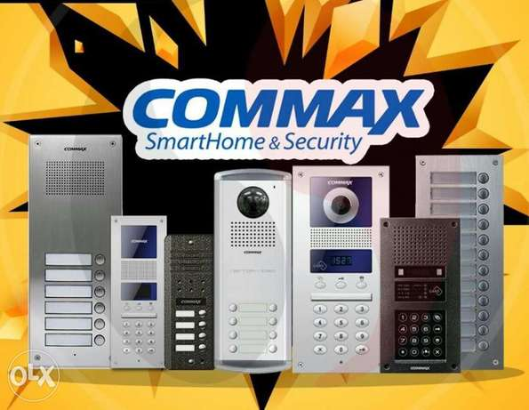 (( commax intercom DOOR phone ))