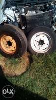 Ford tractor front wheels