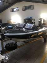 Boat with 115 Mariner
