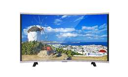 Angle viewing of the Nasco 32 curved HD satellite led tv