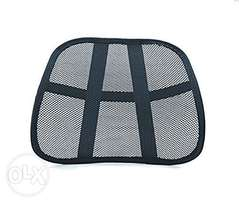 Cool & Breathable Mesh Support - Lumbar Support Cushion Seat Back Musc