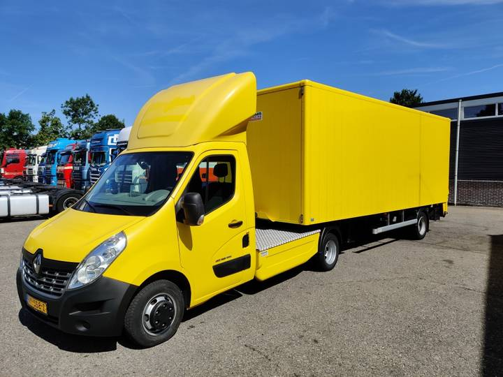 Renault Master Euro5 + Nefra 6.5m 2011 BE-Combi Top Condition! 08... - 2015