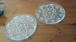 Glass Trays - ideal for cakes and tortes