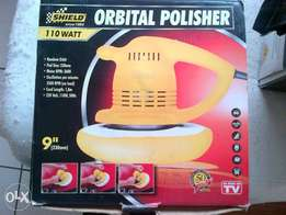 Shield orbital polisher