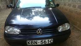 Lady Owned Leather Interior VW Golf Mark IV On Sale