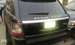 Registered 2011 Range Rover Sport, Thumb Start, DVD, First Body Paint