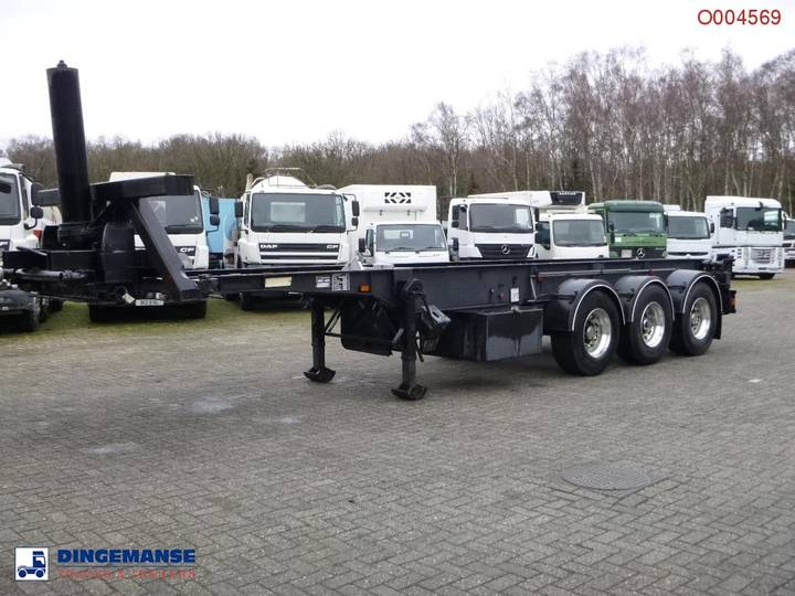Weightlifter Tipping container chassis 30 ft - 1998