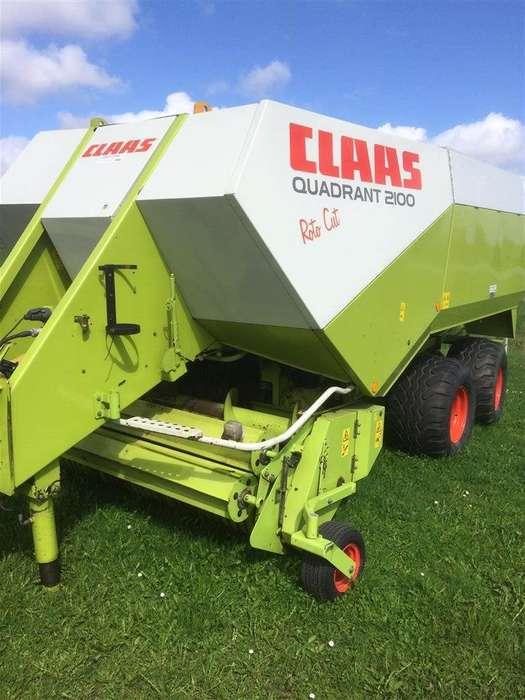 Claas Quadrant 2100 Rc - 2007