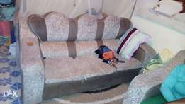 Sofa Set, 3 seater plus 2 singles.