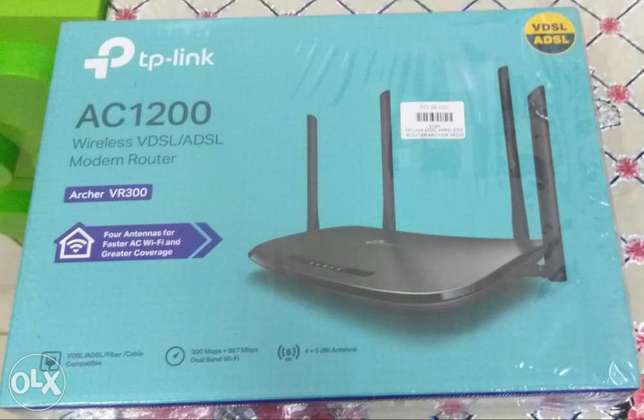 TP Link AC1200 Wireless Modem Router Archer VR300 available for sale