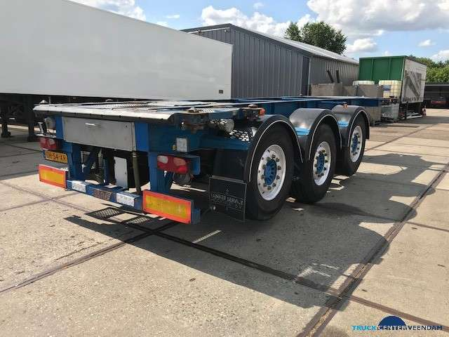 Burg 20 ft ADR containerchassis- 2x liftas BPO 12-27 CCXAX - 2005