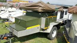 2006 Afrispoor Off road trailer