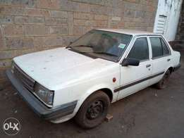 Nissan B11,in good condition,only tire change pressure,Ingine ok