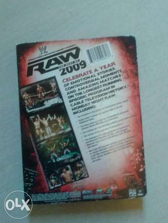 best of wwe raw 2009 3 original dvd set