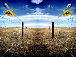 Electric fence installations
