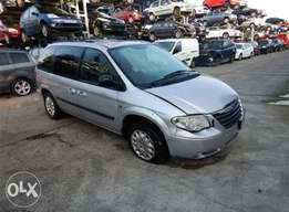 2005 Chrysler Voyager 2.8 Crd (Sparez available)