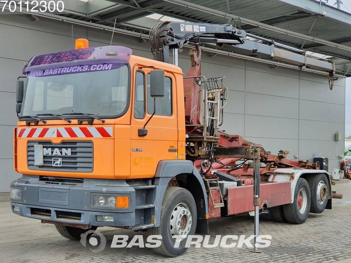 F2000 Commander 26.314 6X2 Manual Big-Axle Euro 2 Hiab 102-2 - 2000