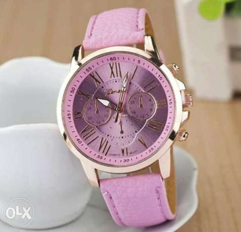 Leather wristwatch for ladies Lagos - image 1