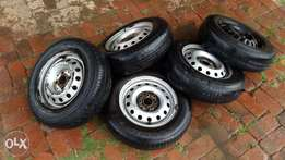 Golf rims and tyres 175/55/13