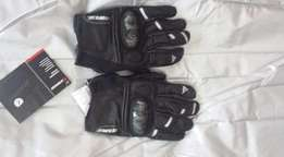 Dainese leather motorcycle gloves