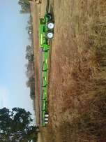 John deer flexi header trailer