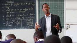 Call for a Mathematics Teacher