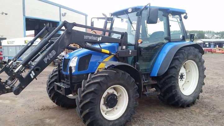 New Holland T5070 Skogsbyggd 1885tim - 2010