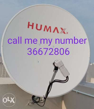 Airtel dish and receiver full HD new call me