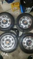 1984 toyota corolla wheels and steering wheel for sale