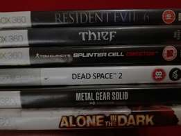Xbox games for R50 each