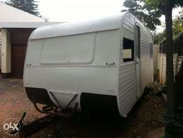 Used jurgens mobile kitchen caravan for sale